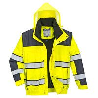 Hi-Vis Classic Bomber Jacket (YeNa / Small / R)