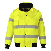 Hi-Vis 3-in-1 Bomber Jacket (Yellow / 3 XL / R)