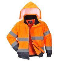 HI-Vis 2-in-1 Jacket (Orange / Small / R)