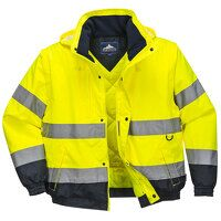 HI-Vis 2-in-1 Jacket (Yellow / Small / R)