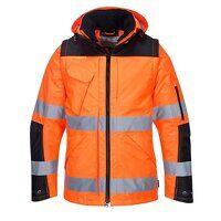 Pro Hi-Vis 3-in-1 Jacket (OrBk / Medium / R)