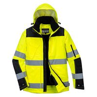 Pro Hi-Vis 3-in-1 Jacket (YeBk / Large / R)