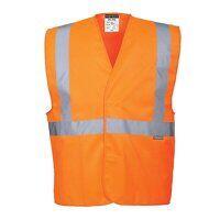 Hi-Vis One Band & Brace Vest (Orange / XX3X / R)