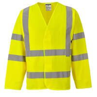 Hi-Vis Two Band & Brace Jacket (Yellow / LXL / R)