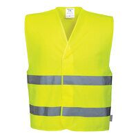 Hi-Vis Two Band Vest (Yellow / XX3X / R)
