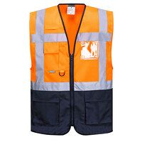 Warsaw Executive Vest (OrNa / Medium / R)