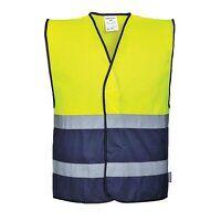 Hi-Vis Two Tone Vest (YeNa / XX3X / R)