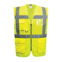 Madrid Executive Mesh Vest (Yellow / 4XL / R)