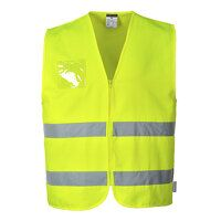 Hi-Vis Polycotton Vest (Yellow / XL / R)