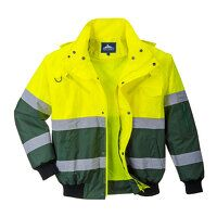 X Hi-Vis Bomber Jacket (YeGree / Small / R)
