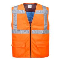 High Vis Cooling Vest (Orange / XX3X / R)