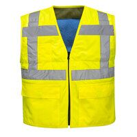 High Vis Cooling Vest (Yellow / XX3X / R)