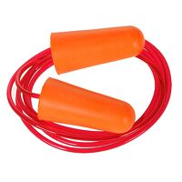 Corded PU Foam Ear Plug (200 pairs) (Orange / R)
