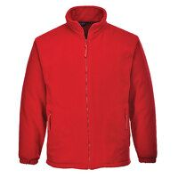 Aran Fleece Jacket (Red / Small / R)