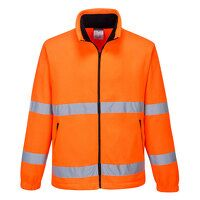 Hi-Vis Essential Fleece (Orange / Small / R)