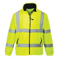 Hi-Vis Mesh Lined Fleece (Yellow / XSmall / R)