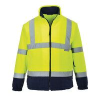 Hi-Vis Two Tone Fleece (YeNa / 3 XL / R)
