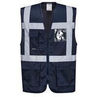 Iona Executive Vest (Navy / Large / R)