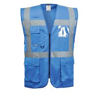 Iona Executive Vest (Royal / Large / R)