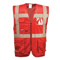 Iona Executive Vest (Red / Medium / R)