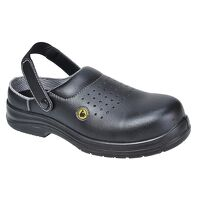 Portwest Compositelite ESD Perforated Safety Clog ...