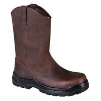 Portwest Compositelite Indiana Rigger Boot S3 (Brown / 40 / R)