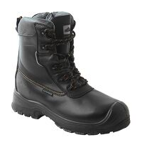Portwest Compositelite Traction 7 inch (18cm) Safety Boot S3 HRO CI WR (Black / 48 / R)