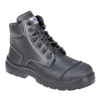 Clyde Safety Boot S3 HRO CI HI FO (Black / 42 / R)