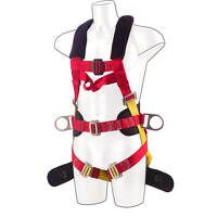 Portwest 3 Point Comfort Plus Harness (Red / R)