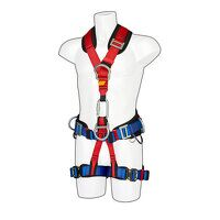 Portwest 4 Point Comfort Plus Harness (Red / R)