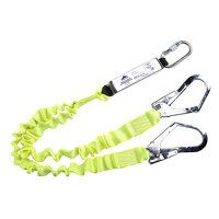 Double Elasticated Lanyard With Shock Absorber (Yellow / R)
