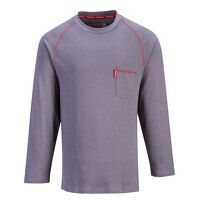 Bizflame FR Crew Neck (Grey / Small / R)