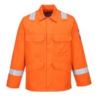 Bizflame Plus Jacket (Orange / 4XL / R)