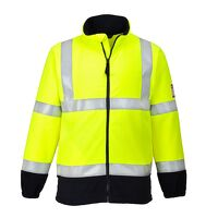 Flame Resistant Anti-Static Hi-Vis Fleece (Yellow ...