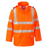 Sealtex Flame Hi-Vis Jacket (Orange / Medium / R)