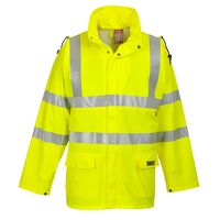 Sealtex Flame Hi-Vis Jacket (Yellow / 4XL / R)