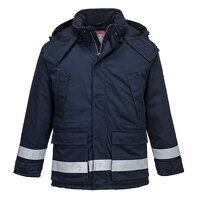 FR Anti-Static Winter Jacket (Navy / Medium / R)