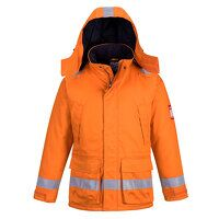 FR Anti-Static Winter Jacket (Orange / Medium / R)