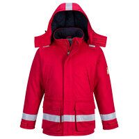FR Anti-Static Winter Jacket (Red / 3 XL / R)