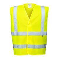 Hi-Vis Vest- Flame Resistant (Yellow / X...