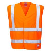 Hi-Vis Anti Static Vest - Flame Resistant (Orange ...