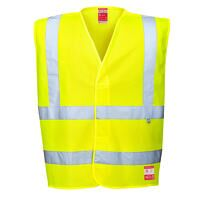 Hi-Vis Anti Static Vest - Flame Resistant (Yellow ...