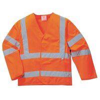 Hi-Vis Jacket Flame Resistant (Orange / ...