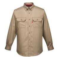 Bizflame 88/12 FR Shirt (Khaki / Medium / R)