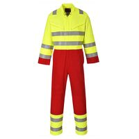 Bizflame Services Coverall (Yellow / 3 XL / R)