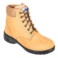 Steelite Louisa Ladies Ankle Boot S3 (Wheat / 42 / E)