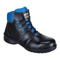 Steelite Lily Ladies Ankle Boot S1P (Black / 36 / ...