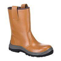 Steelite Rigger Boot S1P HRO (Unlined) (Tan / 41 /...