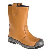 Steelite Rigger Boot S1P CI (With scuff cap) (Tan ...