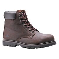 Steelite Welted Safety Boot SB HRO (Brown / 42    ...